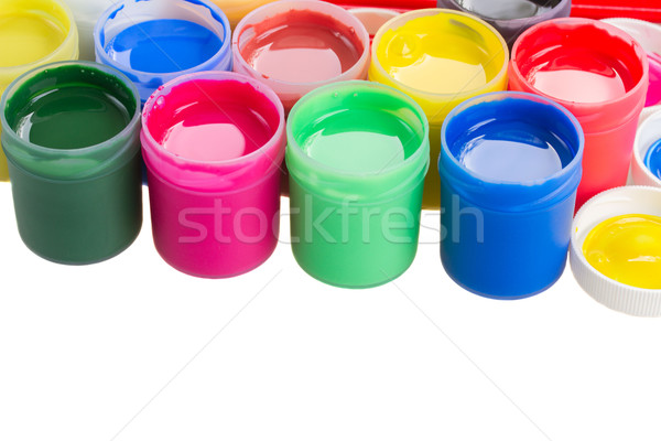 cans of  paints Stock photo © neirfy
