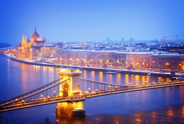 Stock photo: cityscape of  Budapest, Hungary