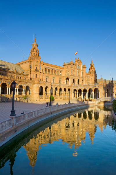 Plaza de España, Seville, Spain Stock photo © neirfy