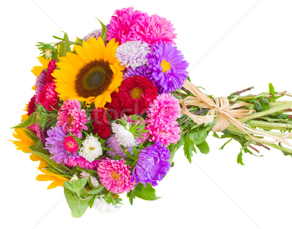 autumn flowers  bouquet Stock photo © neirfy