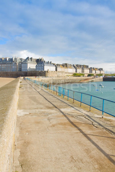 old town of  St Malo, Brittany, France Stock photo © neirfy