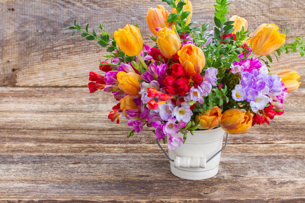 freesia and  flowers Stock photo © neirfy