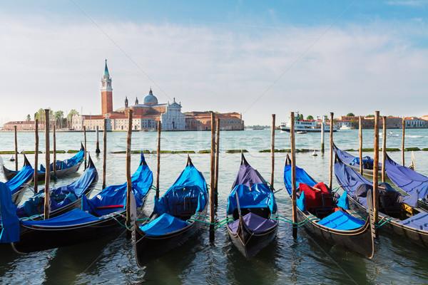 運河 ヴェネツィア イタリア 空 夏 ストックフォト © neirfy