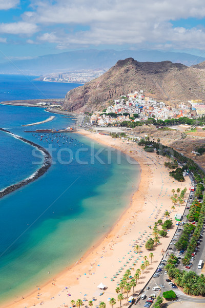 Las Teresitas beach, Tenerife Stock photo © neirfy