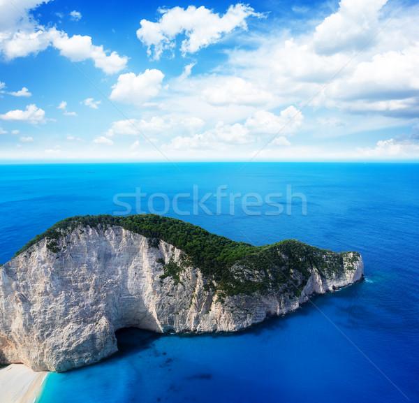 美しい 島 風景 ビーチ レトロな 自然 ストックフォト © neirfy