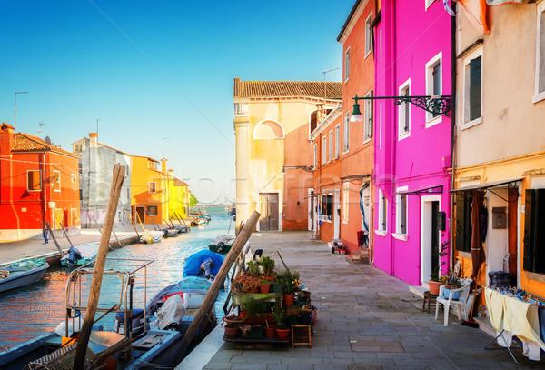 島 ヴェネツィア イタリア 住宅 ストックフォト © neirfy