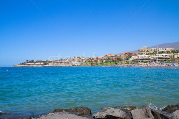 playa Fanabe, Tenerife, Spain Stock photo © neirfy