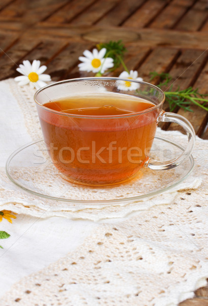 cup of tea on table Stock photo © neirfy