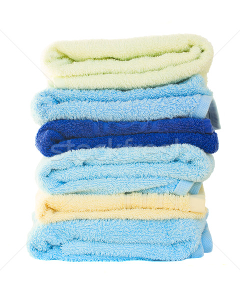 Pile of washed towel Stock photo © neirfy
