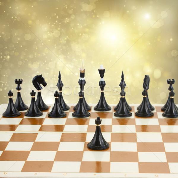 black pawn Stock photo © neirfy