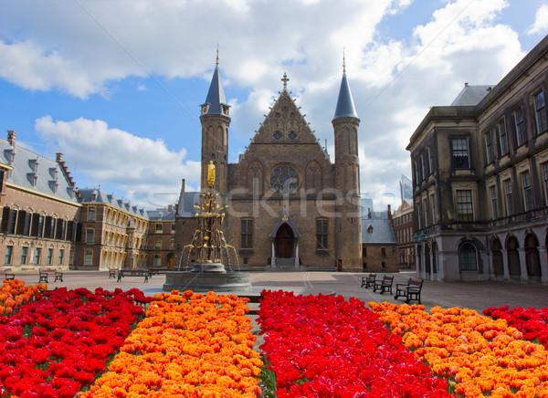 Ridderzaal, the Hague Stock photo © neirfy