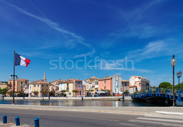old harbor with boats Martigues, Provence,  France Stock photo © neirfy