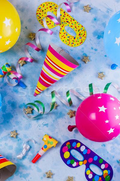 Parlak renkli karnaval parti sahne model Stok fotoğraf © neirfy