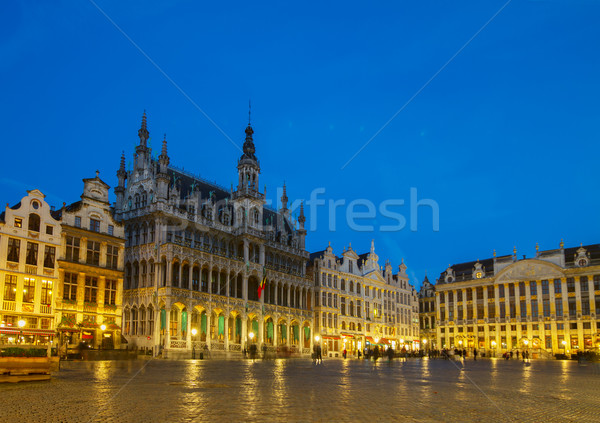 Grand Place  Square, Brusseles Stock photo © neirfy
