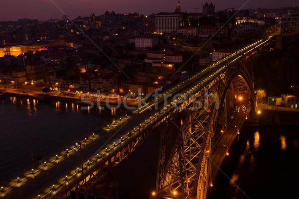 bridge of Dom Luis I , Portugal Stock photo © neirfy