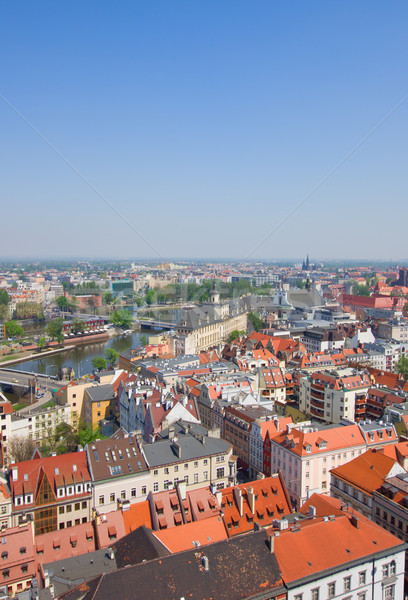 Wroclaw from above Stock photo © neirfy