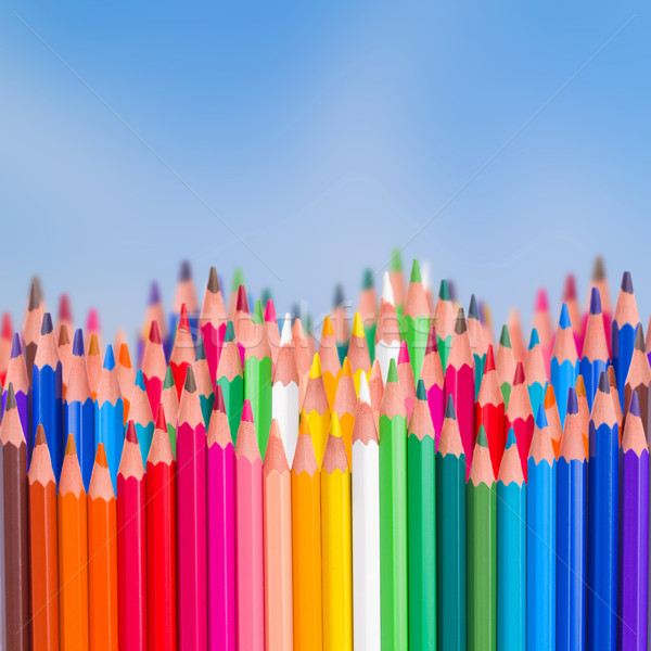 back to school pencils  border Stock photo © neirfy