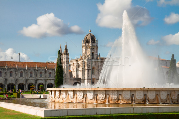 Mosteiro dos Jeronimos in Lisbon, Portugal Stock photo © neirfy