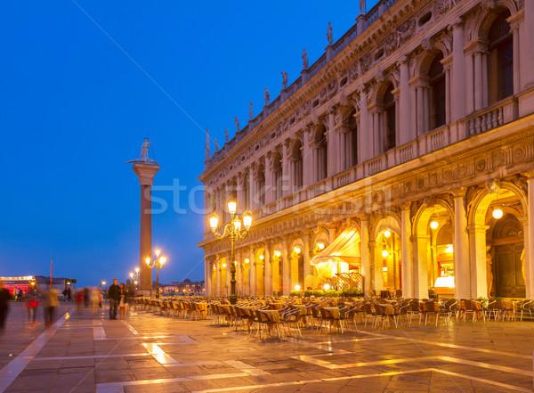Square San Marco, Venice, Italy Stock photo © neirfy