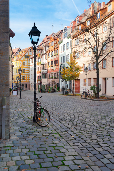 Old town of Nuremberg, Germany Stock photo © neirfy