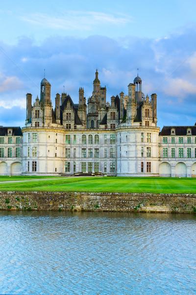 Chambord castle, Loire Valey, France Stock photo © neirfy