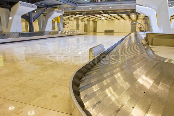 Bagages ceinture aéroport vide modernes accent Photo stock © neirfy