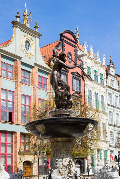 The Neptune, Gdansk Stock photo © neirfy