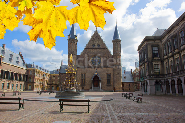 Ridderzaal, the Hague, Netherlands Stock photo © neirfy
