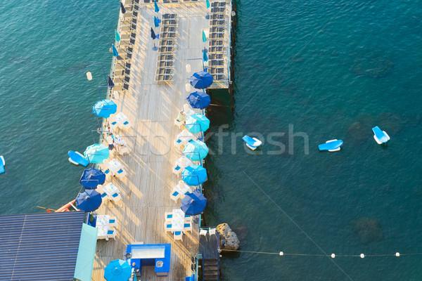 Meridional Italia playa agua ciudad Foto stock © neirfy