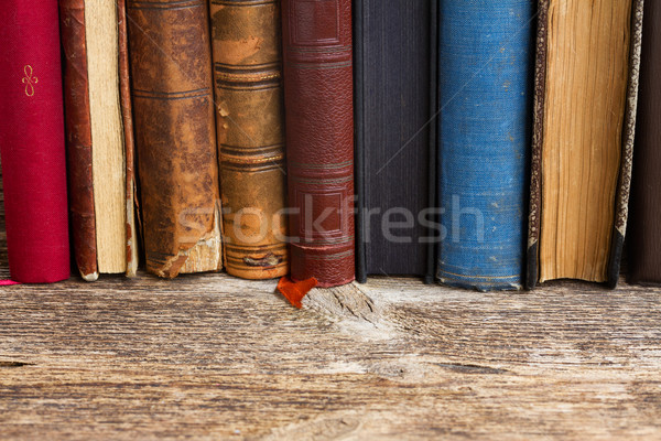 Bookshelf Stock photo © neirfy