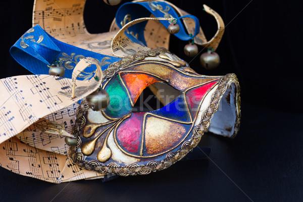 Mardi gras masques Stock photo © neirfy
