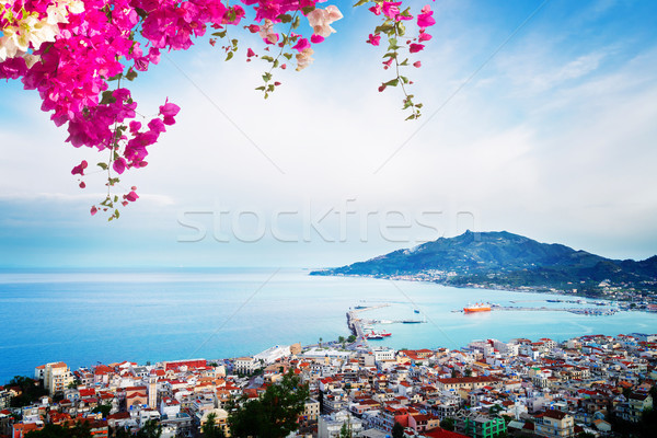 Zaante town, Zakinthos Greece Stock photo © neirfy