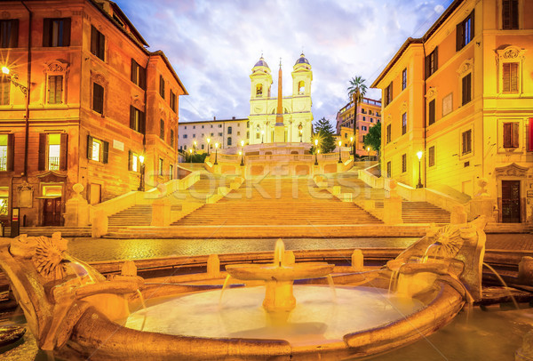 Spanish Steps, Rome, Italy Stock photo © neirfy