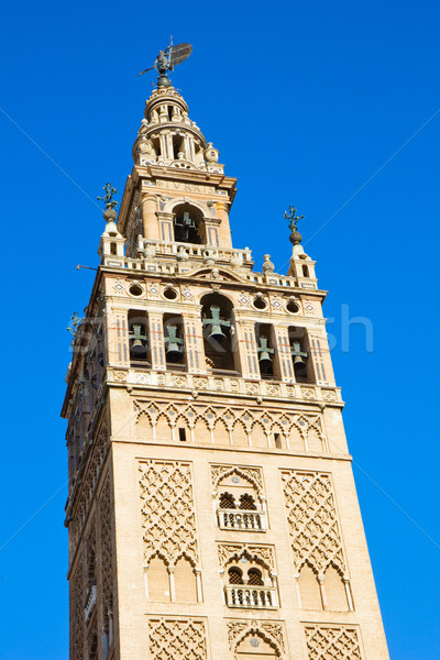 çan kule katedral kilise İspanya minare Stok fotoğraf © neirfy