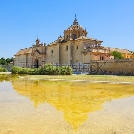 Monastery Cartuja,  Sevilla,  Spain Stock photo © neirfy