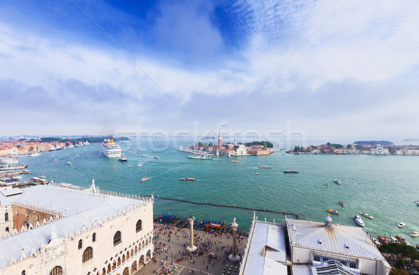 cityscape of Venice lagoon, Italy Stock photo © neirfy