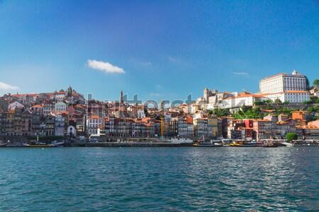 丘 旧市街 ポルトガル 家 市 ストックフォト © neirfy