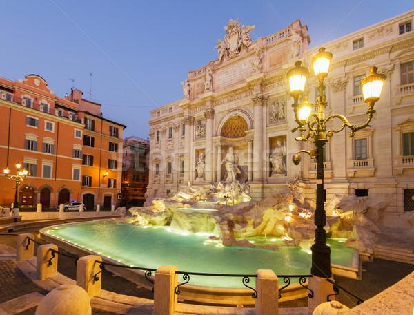 Fountain di Trevi in Rome, Italy Stock photo © neirfy