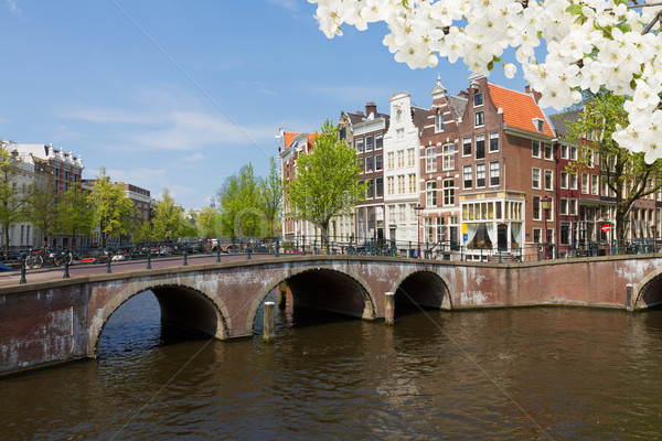 canal ring, Amsterdam Stock photo © neirfy