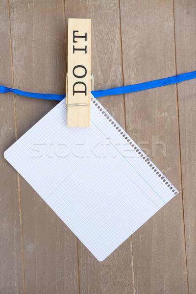 To do list Stock photo © neirfy
