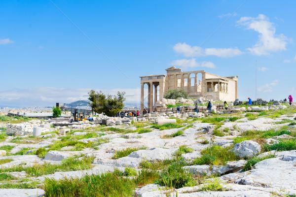 Templo Acrópole Atenas Grécia fundo Foto stock © neirfy
