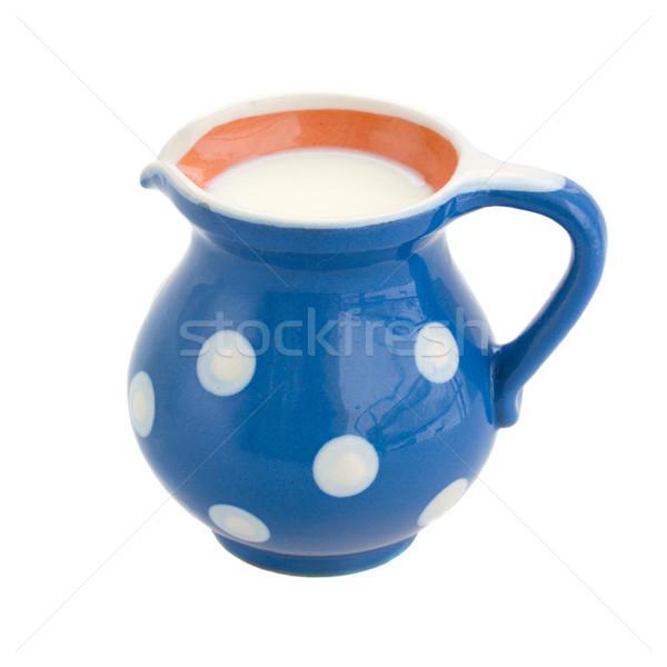 pot of milk Stock photo © neirfy
