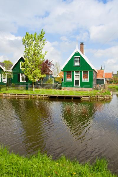 rural  houses of Zaanse Schans, Holland Stock photo © neirfy