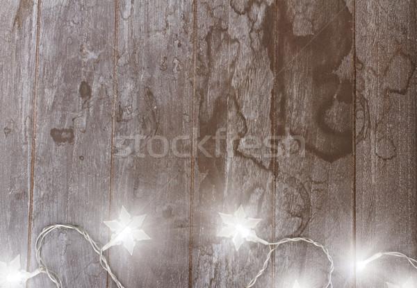 christmas lights Stock photo © neirfy