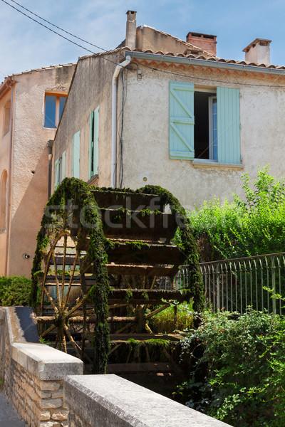 L'Isle-sur-la-Sorgue, France, Provence. Stock photo © neirfy