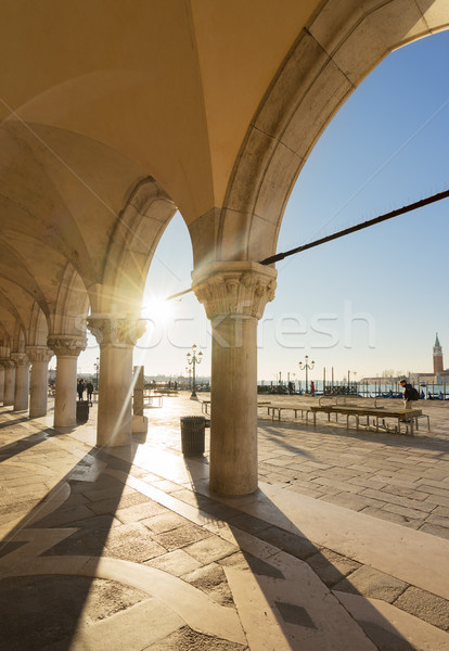 Palace of Doges, Venice, Italy Stock photo © neirfy