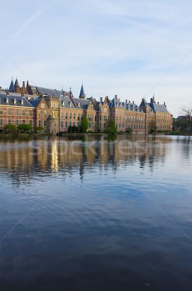 голландский парламент Нидерланды служба дома строительство Сток-фото © neirfy