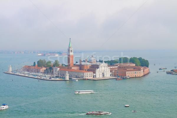 San Giorgio island, Venice, Italy Stock photo © neirfy