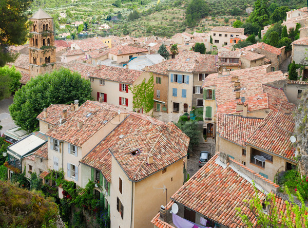 Moustiers-Sainte-Marie, France, Provence. Stock photo © neirfy