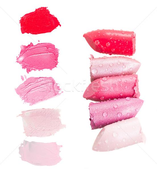 set of lipsticks Stock photo © neirfy